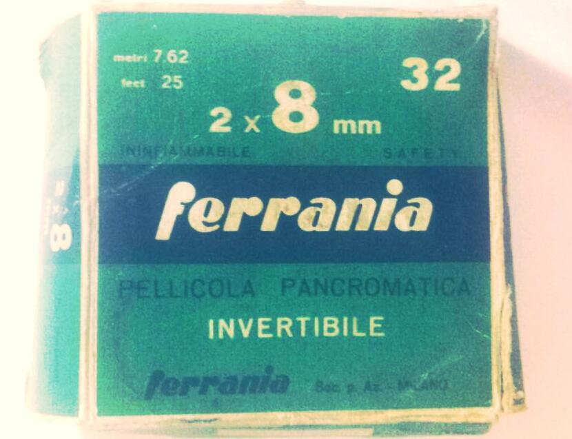 Involucro Pellicola 8mm anno 1950