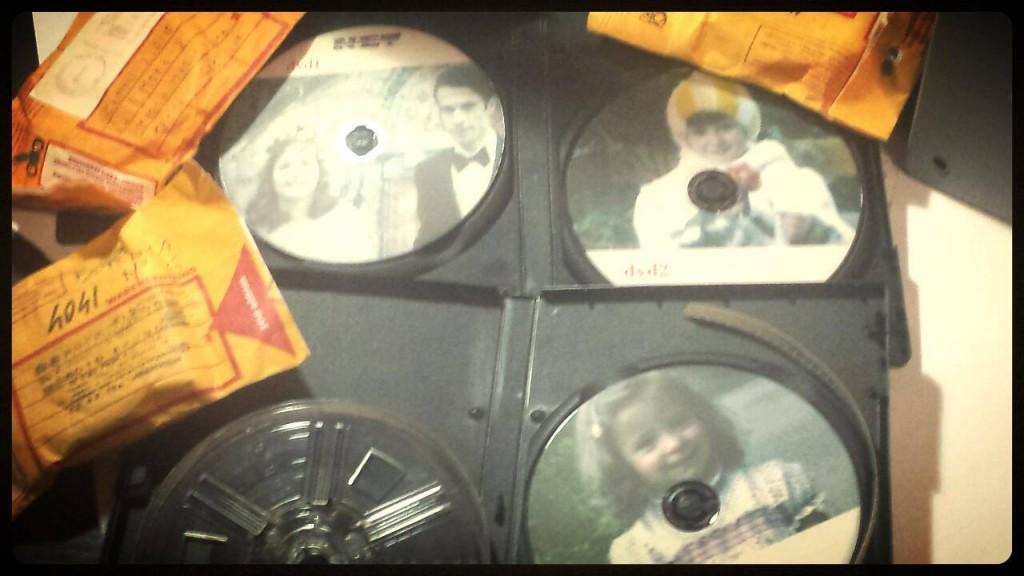 trasferimento filmati super8 in dvd