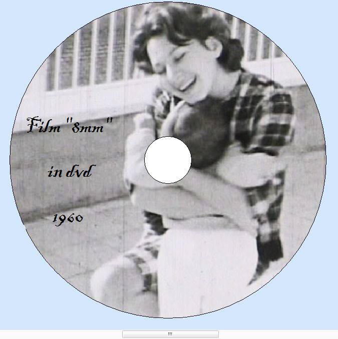 8 millimetri pellicola stampa su dvd