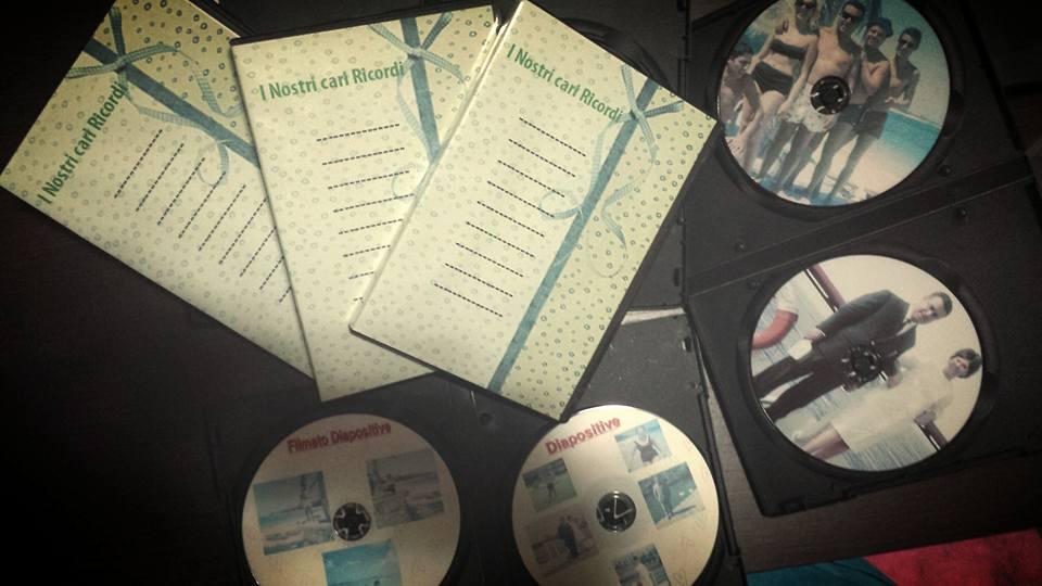 Raccolta di pellicole 8mm nel formato dvd