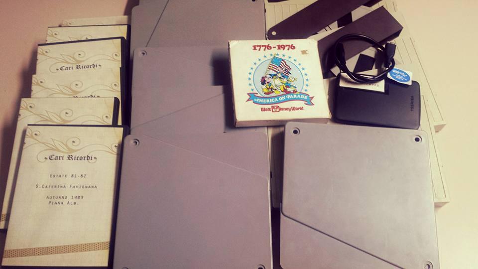 pellicole super 8 da 120 mt su hard disk esterno