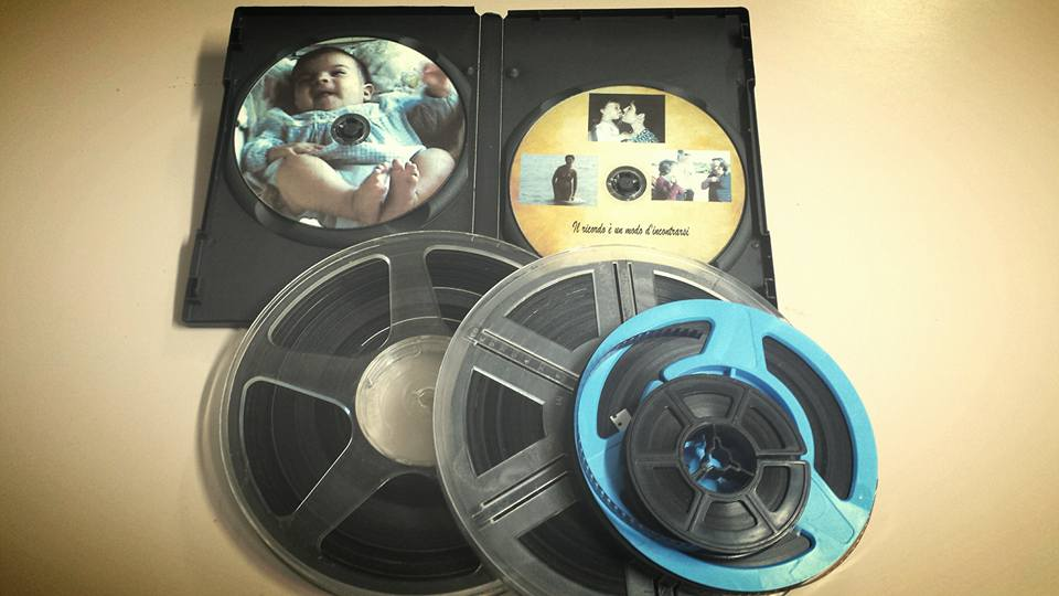Pellicole 8 millimetri anni 60 in dvd