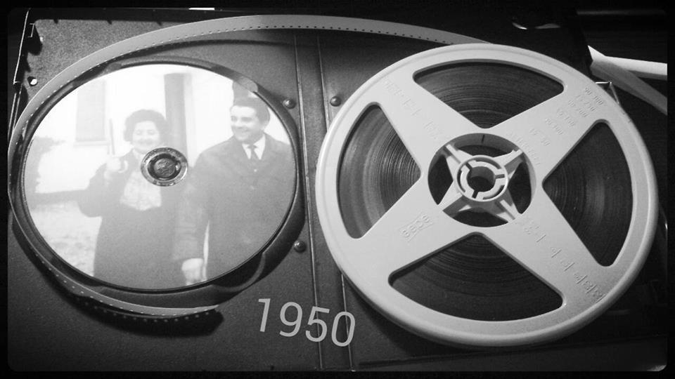 """Pellicola 8mm """"anni 50"""""""