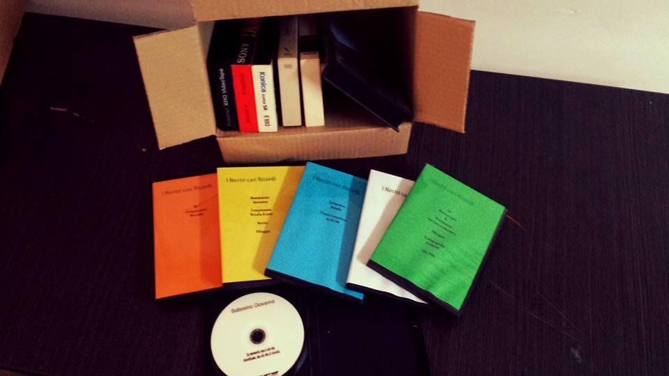 Trasferimento di cassette di varie dimensioni in dvd