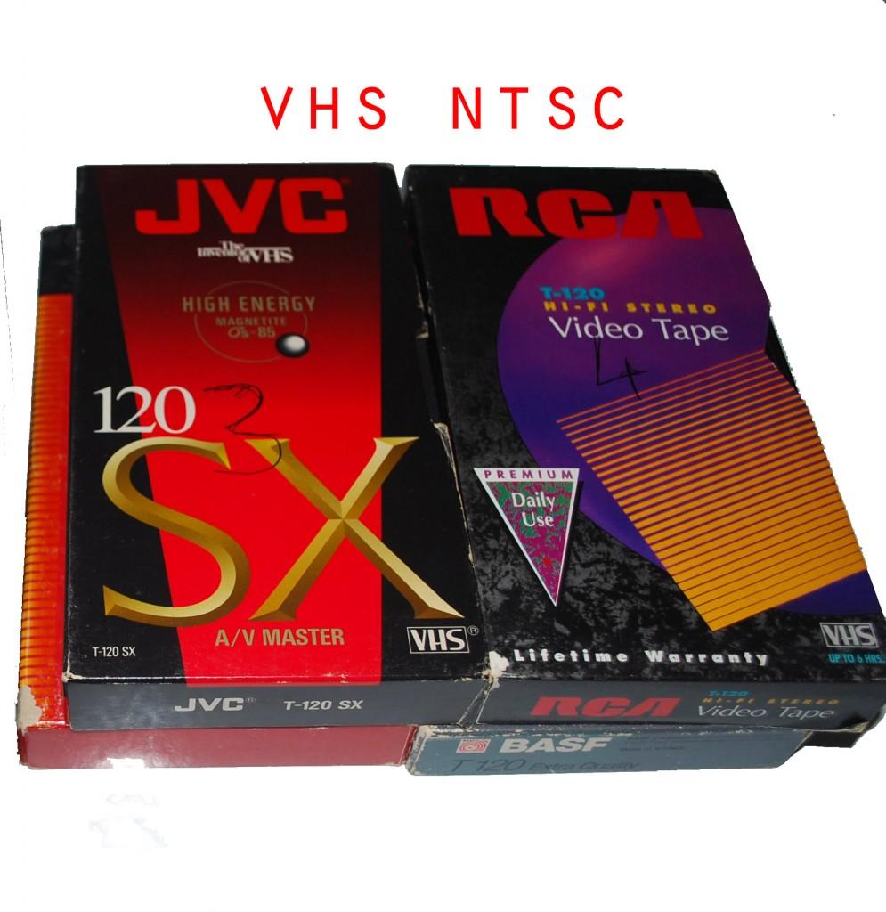 cassette vhs ntsc