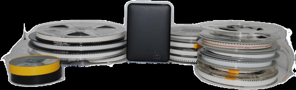 super8 cm 14,50 su hard disk esterno